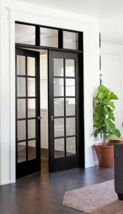 Incredible Glass Doors Ideas For Exterior Design To Try Today 45
