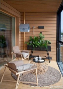 Incredible Small Apartment Balcony Design Ideas On A Budget To Try Asap 05