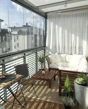 Incredible Small Apartment Balcony Design Ideas On A Budget To Try Asap 25