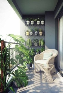 Incredible Small Apartment Balcony Design Ideas On A Budget To Try Asap 28