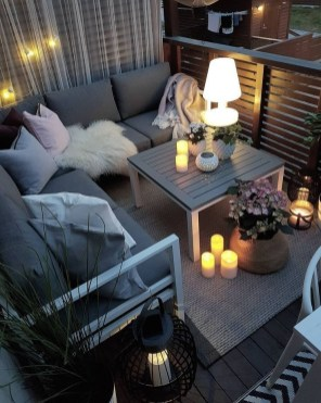 Incredible Small Apartment Balcony Design Ideas On A Budget To Try Asap 33