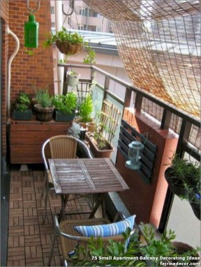 Incredible Small Apartment Balcony Design Ideas On A Budget To Try Asap 44