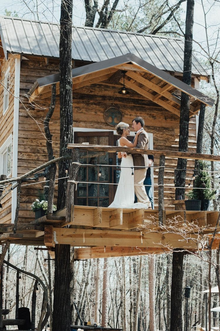 Inspiring Tree House Design Ideas For Wedding To Have 14