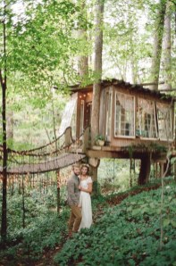 Inspiring Tree House Design Ideas For Wedding To Have 22