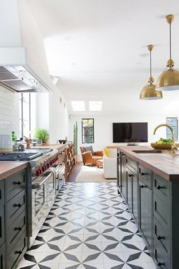 Lovely Floor Kitchen Tile Design Ideas That Make You Amazed 36