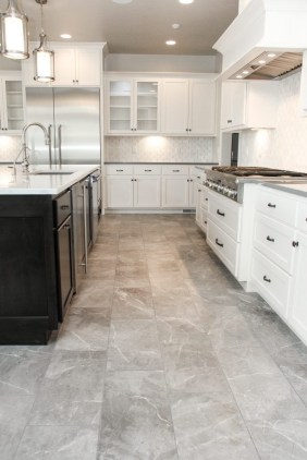 Lovely Floor Kitchen Tile Design Ideas That Make You Amazed 42