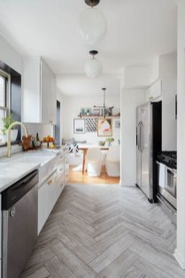 Lovely Floor Kitchen Tile Design Ideas That Make You Amazed 49
