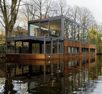 Magnificient Houseboat Design Ideas With Imaginative Dream 43