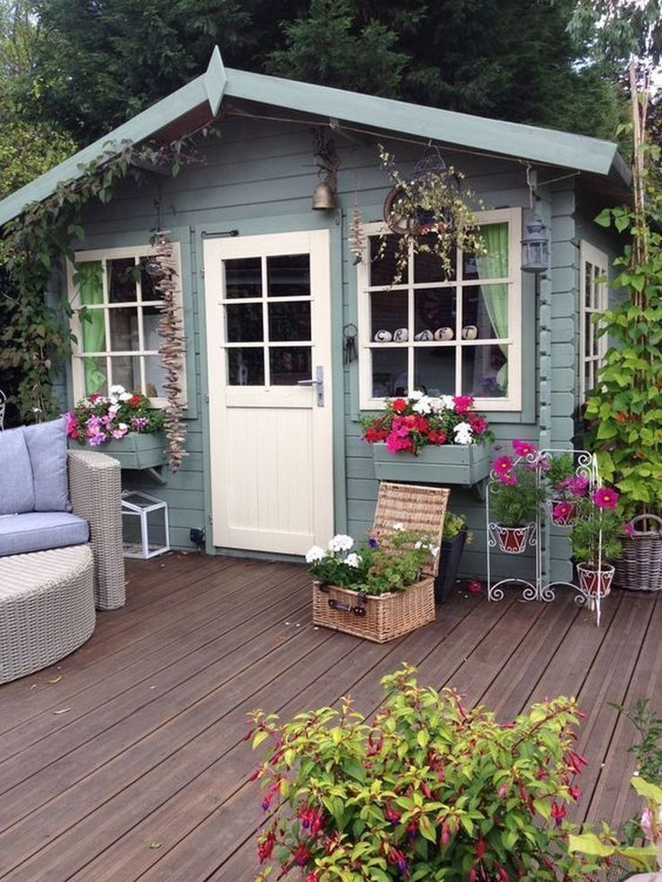 Marvelous Diy Backyard Shed Design Ideas That You Have To Know 11