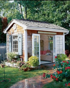 Marvelous Diy Backyard Shed Design Ideas That You Have To Know 36