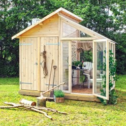Marvelous Diy Backyard Shed Design Ideas That You Have To Know 44
