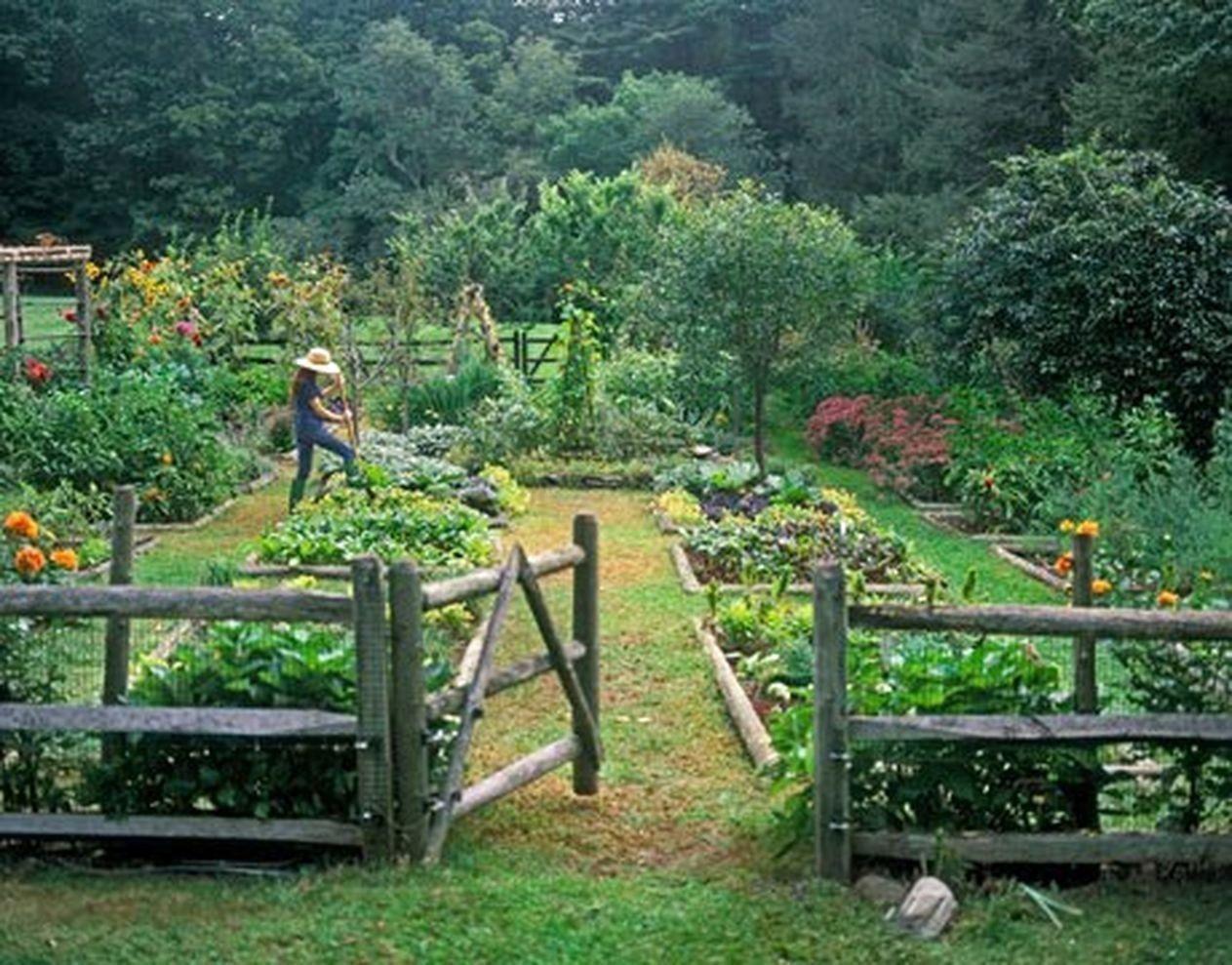 Rustic Vegetable Garden Design Ideas For Your Backyard Inspiration 10