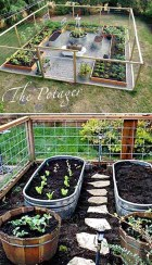 Rustic Vegetable Garden Design Ideas For Your Backyard Inspiration 11