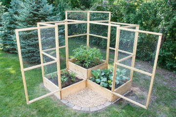 Rustic Vegetable Garden Design Ideas For Your Backyard Inspiration 17