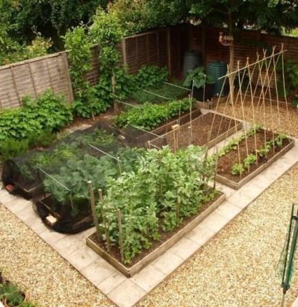 Rustic Vegetable Garden Design Ideas For Your Backyard Inspiration 50