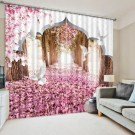 Stunning Bedroom Decoration Ideas With Flower Curtain To Try Right Now 01