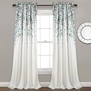 Stunning Bedroom Decoration Ideas With Flower Curtain To Try Right Now 11