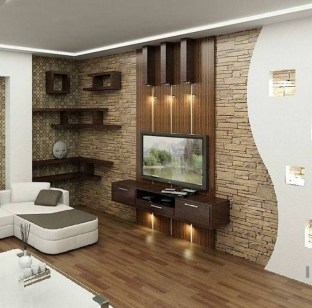 Stylish Bedroom Design Ideas With Tv Wall To Try Asap 13