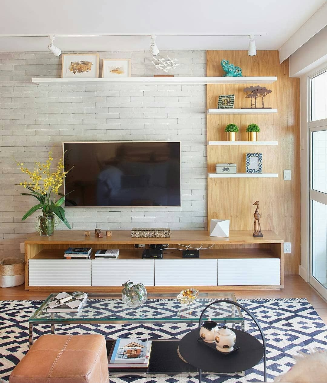 Stylish Bedroom Design Ideas With Tv Wall To Try Asap 29
