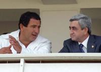 Serzh Sargsyan and Gagik Tsarukyan