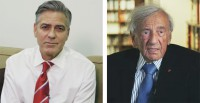 George Clooney and Elie Wiesel will serve as co-chairmen of the Aurora Award