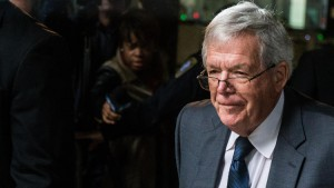 Former U.S. House Speaker Dennis Hastert is accused of agreeing to pay $3.5 million in apparent hush money