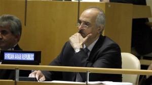 Bashar Ja'afari, the Syrian ambassador to the United Nations ©AP
