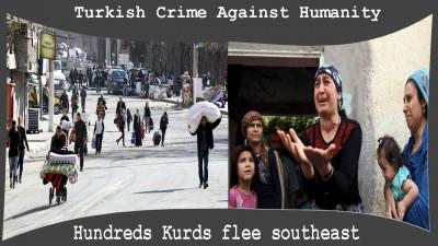 kurd flee