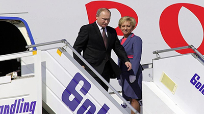 Putin in greece