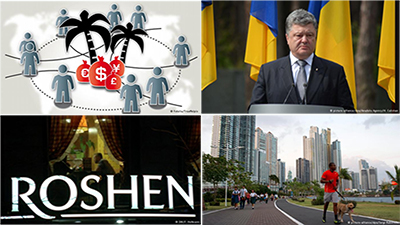 Panama City: Poroshenko was one of the people implicated in the 'Panama papers' revelations