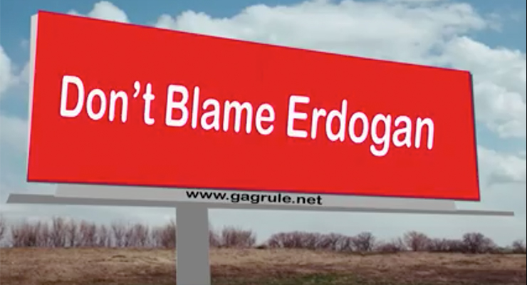 do not blame erdogan