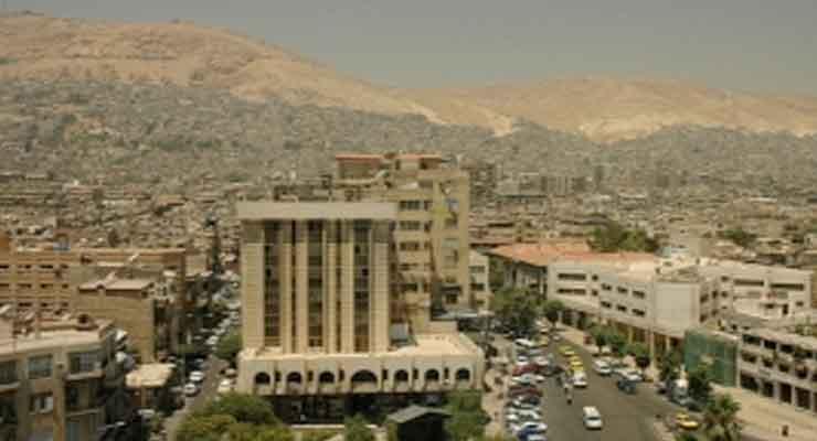 flights to Damascus