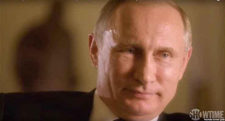 Putin Says 'Nobody Would Survive' U.S.-Russia 'Hot War'