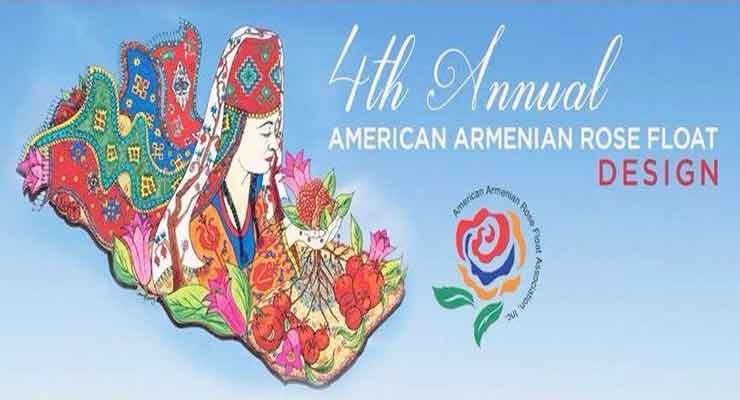 Armenian American float