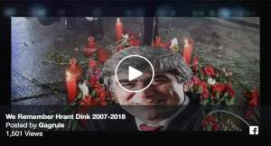 Istanbul hosts Hrant Dink commemoration march VIDEO