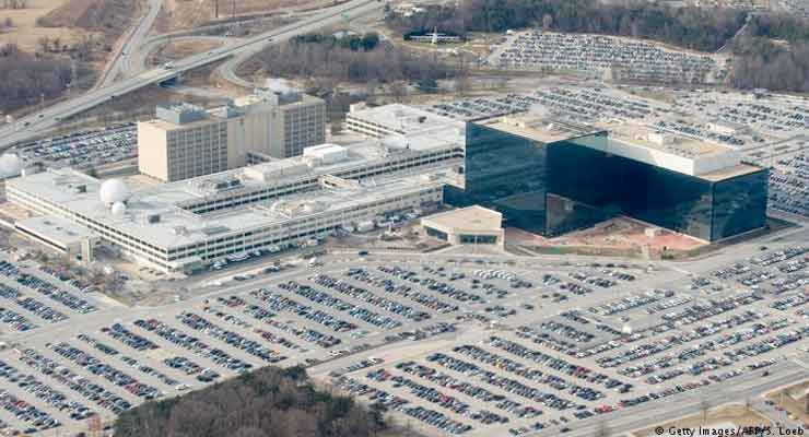 Shooting outside US National Security Agency