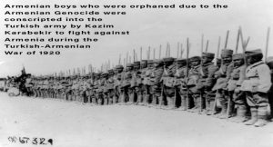 Armenian Turks and Other Tragic Stories of Roots, Armenian Orphans conscripted to fight Armenia