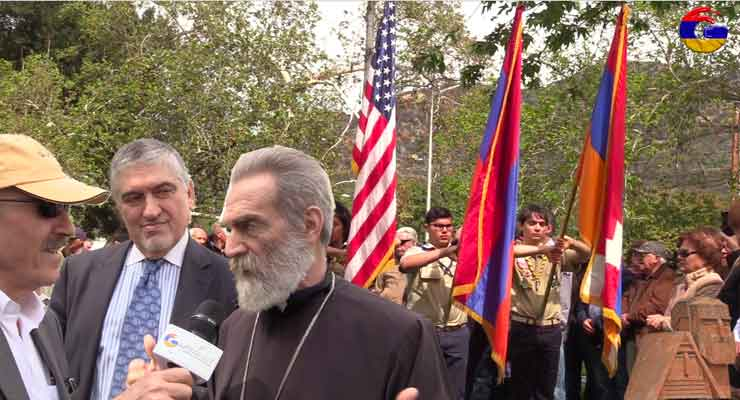 Artsakh Liberation Movement's 30th Anniversary with His Eminence Archbishop Barkev Martirosyan, Primate of the Diocese of Artsakh.