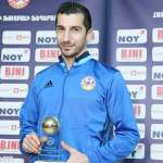 Mkhitaryan says pleasure to be the first