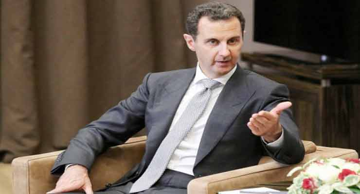 Assad: Reconstruction of Syria