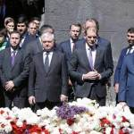 Dutch minister attends Armenian Genocide commemoration in Yerevan