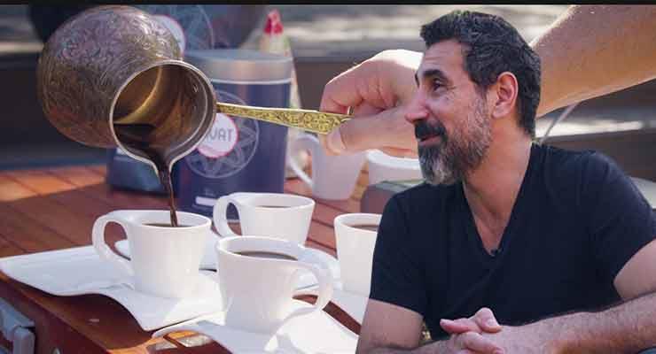 Serj Tankian Talk Coffee and Creativity