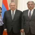 President Sarkissian meets with TUMO founders