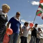 Spain's Basques form 200km human chain calling for independence vote