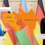 Angela Merkel in Azerbaijan calls for peace with Armenia