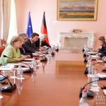 High Level Pashinyan-Merkel talks take place in Yerevan