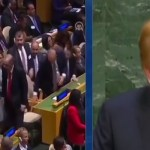 "Watch Turkish Dictator Erdogan walks off during Trump's speech at UN General Assembly in NY ""VIDEO"""
