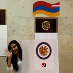 Watch Wally Sarkeesian goes to #Yerevan municipal elections polling station in Davtashen District Video