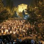 Tens Of Thousands Protest Outside Armenian Parliament Against 'Counterrevolutionary' Bill