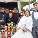 Newly married couple made the first purchases in Stepanakert trade fair Video